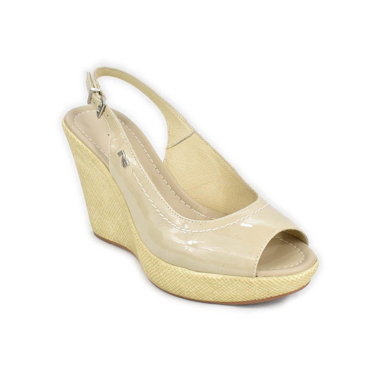 Sandali NeroGiardini beige