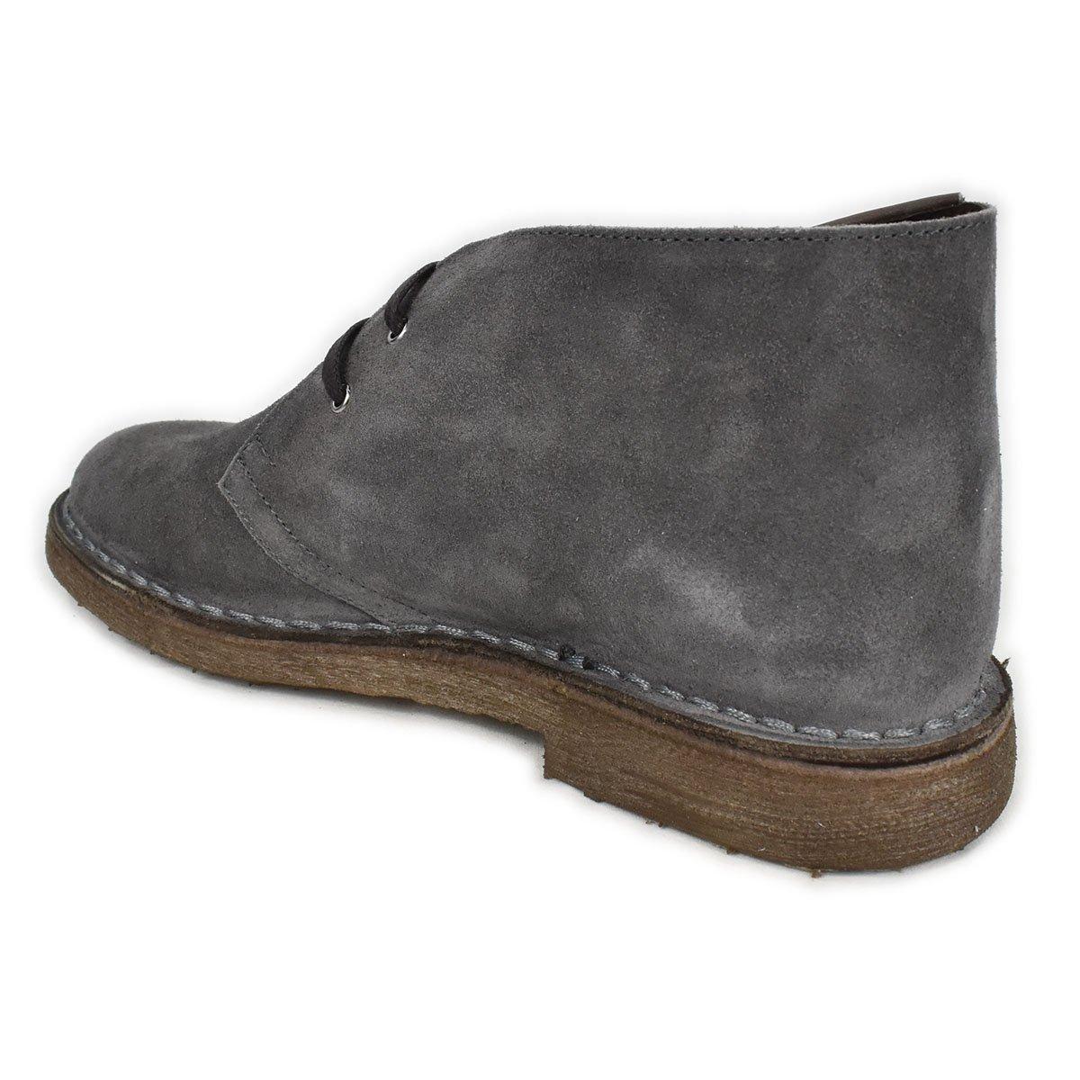 Polacchino scamosciato grigio antracite - CafèNoir FTD673